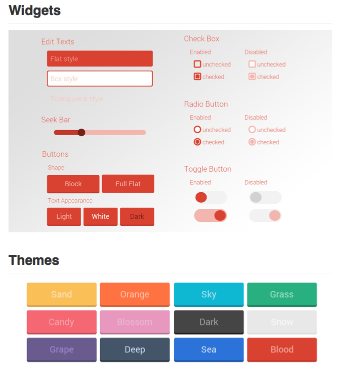 A Flat UI Kit for Android - DZone Mobile