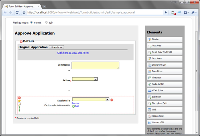 Joget Workflow Form Builder