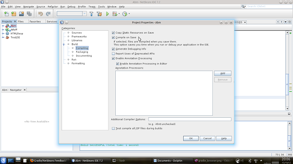 how to open a project in netbeans