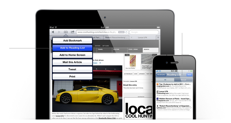 HTML5 and new features in Safari for iOS 5 beta 1 - DZone Mobile
