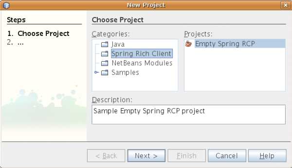 Getting Started With Spring Rcp Dzone Java