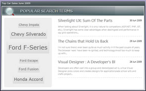Don't Reinvent the Wheel (Part 1) - Controls for Silverlight