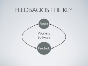 Agile Feedback Loop