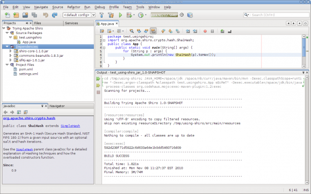 NetBeans Maven - Using Dependency