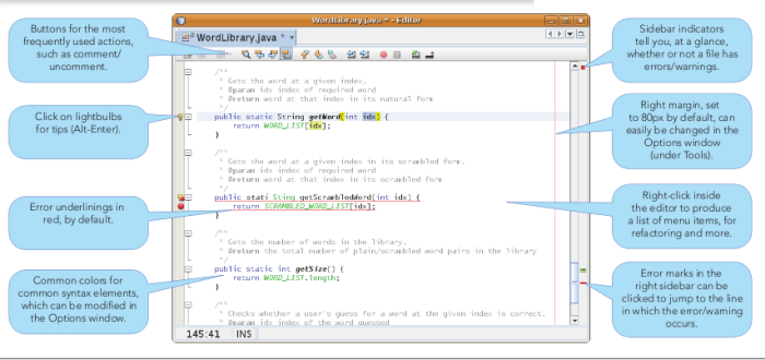 Updated NetBeans Java Editor Refcard for NetBeans IDE 6 5