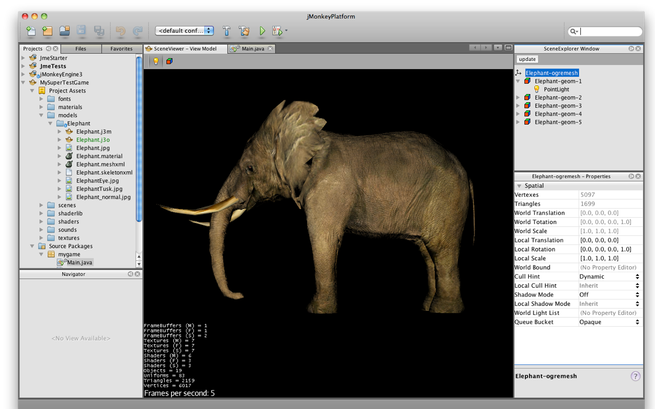 3d game development on the netbeans platform with jme3 dzone java opengl 2 support new shader features with huge improvements on lighting materials textures integrated 3d physics and an asset manager baditri Image collections