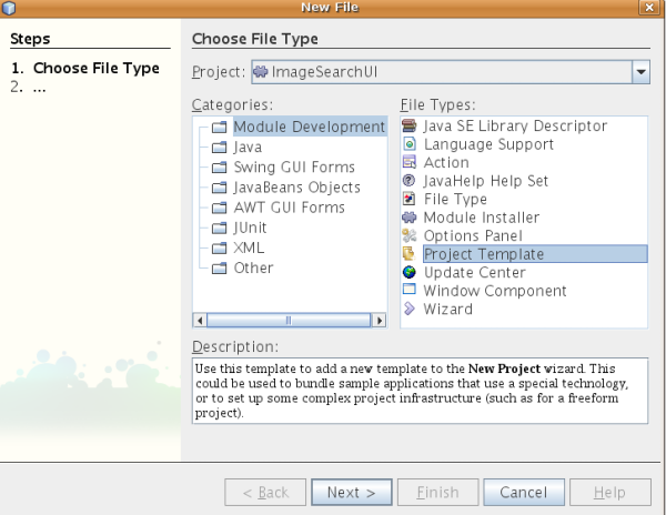 Hack Your Own Custom NetBeans Project Templates - DZone Java