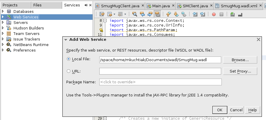 how to create setup file in java using netbeans