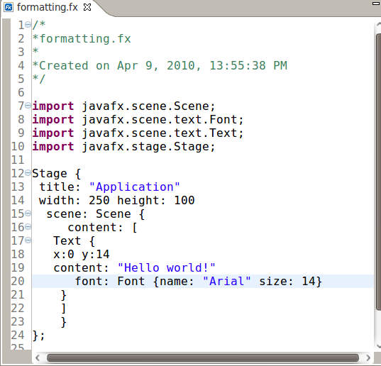 Exadel JavaFX Plug-In for Eclipse Features - DZone Java