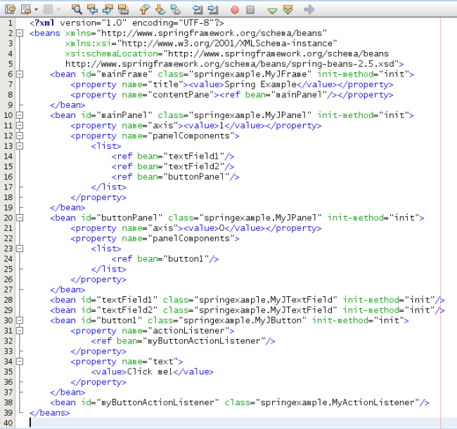 Spring How To Create Decoupled Swing Components Dzone Java