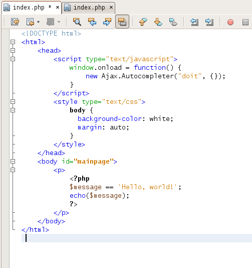 syntax highlighting in NetBeans 6.5 beta